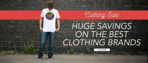 Huge Clothing sale @ Rollersnakes