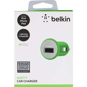 Belkin Mixit Car Chargers £7.50 instore @ Sainsbury's