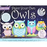 Paint Your Own Owls Set now £7 or 2 for £10 (mix & match offer) + Free C+C @ The Works