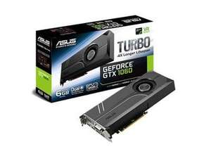 Asus GeForce GTX 1060 TURBO 6GB GDDR5 Graphics Card £229.99 @ BT Shop
