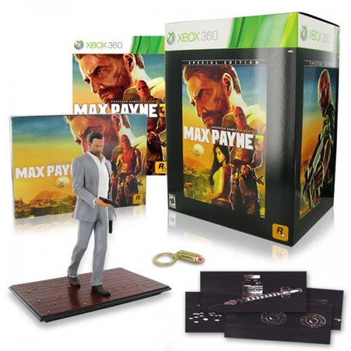 Max Payne 3 Special Edition Xbox 360 £11.97 @ Game Monkey via eBay