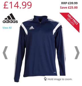 Adidas Condivo14 tracksuit training top men's Now £14.99 + delivery @ MandM Direct