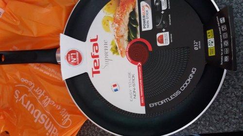 Tefal supreme 32cm non stick frying pan £10 Sainsbury