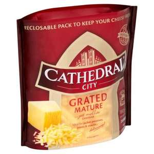 Cathedral City Grated Mature & Lighter Mature Cheddar 180g was £2.38, now £1 @ Morrisons