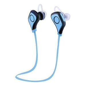 Sunvito Bluetooth 4.0 In-Ear Headphone Earphones Earpiece for Running/Exercise/Gym,Built-in Mic,Hands-free for iPhone 6, 6 Plus,iPad,New iPad,iPod,Android, Samsung Galaxy Sold by SunvitoDirect and Fulfilled by Amazon. £4.99 Prime or £8.98 non prime