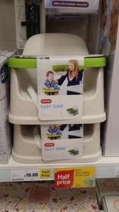 easy dine child seat table top chair top half price  £10 at tesco