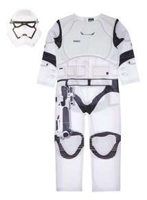 Kids Star Wars Storm Trooper Outfit (3-12 years) sainsburys £7.50