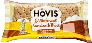 Hovis Wholemeal Sandwich Thins / Hovis Best Of Both Sandwich Thins (6 per pack) was £1.27 now 2 packs for £1.50) @ Morrisons
