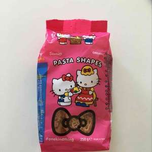 Hello Kitty Organic Pasta Shapes 250g 0.99 - Lidl