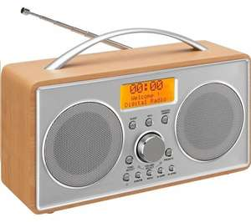 *Refurb Grade A+* LOGIK L55DAB15 Portable / Mains DAB Radio + Free Delivery & 12 Months Warranty £19.99 @ Ebay / homeandgardenltd