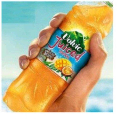 FREE Volvic juice or water 500ml