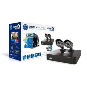 HomeGuard Smart HD 720p 4 Channel 2 Camera 1TB Home CCTV Kit £99.99 @ Tesco direct / Cleverboxes