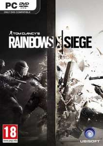 Tom Clancy's Rainbow Six Siege PC (£12.25 with cdkeys 5% fbook like code) £12.89 cdkeys