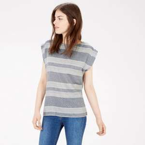 TEXTURED STRIPE T-SHIRT £12 from warehouse.co.uk