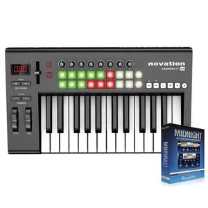 Novation Launchkey 25 Mk1 + Free Focusrite Midnight Plug-In Suite  - £62.99 delivered @ Gear4Music