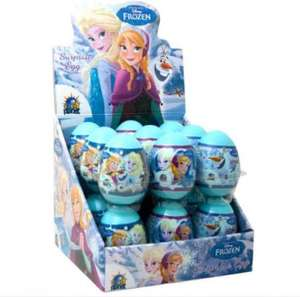 Various Disney surprise eggs 29p. In store Home Bargains