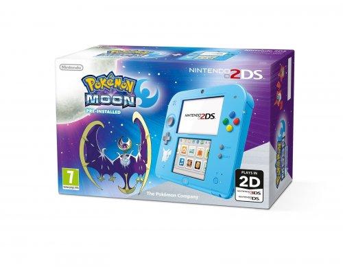 2DS Pokemon Moon Console 2DS £84.85 @ eBay - Shopto