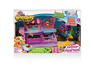 Zuru Hamsters in a house supermarket £14.99 instore B & M