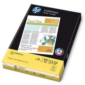 HP Everyday Paper A4 75gsm x 500 sheets for 40p @ Sainsbury's (instore)