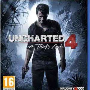 Uncharted 4: A Thief's End PS4 £22.02 delivered (used - like new) @ Amazon (Boomerang Rentals)
