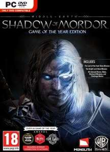 [Steam] Middle-Earth: Shadow Of Mordor GOTY £4.14 (Instant-Gaming)