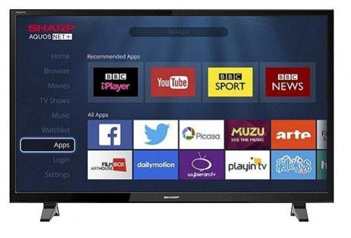 """Sharp Smart LC-48CFF6001K TV 48"""" - Tesco - £229 Delivered"""