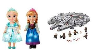 Spend & Save On ALL Toys - £10 Off on a £50 spend /  £20 Off a £100 spend + Free C+C @ Asda George (approx 2400 items inc Furby Lego, Disney & More)