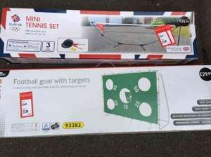 Football Goal with Target ~ Bargain! - £5.99 @ ALDI