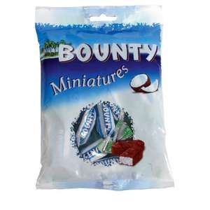 B&M - Bounty Miniatures 150g 49p (in-store)