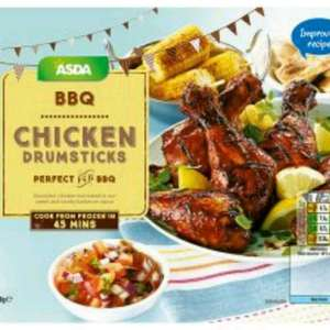 ASDA BBQ Chicken Drumsticks 800g Frozen £1.00 @ Asda