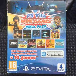PS Vita 4gb memory card and games £3.76 Tesco instore (Aston, Birmingham)