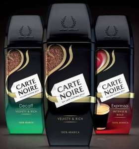 Carte Noire Instant Coffee Classic/Decaff/ Espresso 100g £2 at Morrisons & Asda