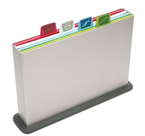 Joseph Joseph Index 4-Piece Chopping Board Set - Silver - £31.50 - Amazon