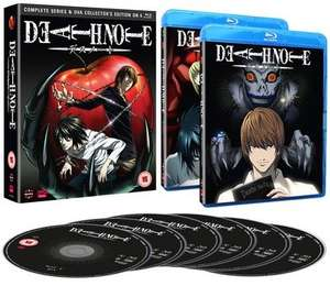 Death Note: Complete Series and OVA Collection (Collector's Edition) [Blu-ray] £21.25 @ Zoom using code
