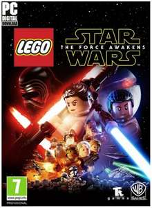 LEGO Star Wars: The Force Awakens PC ( £8.07 ish with cdkeys 5% fbook like code )