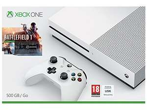 Xbox one s 500gb w/ battlefield 1 @ Amazon £249.99