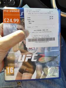 EA UFC 2 (PS4) @ Smyths (PreOwned)