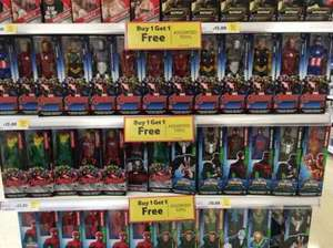 avengers figures buy 1 get 1 free £13 Tesco