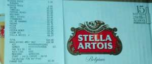 15x Bottles Stella Artois / Becks £6.27 @Tesco