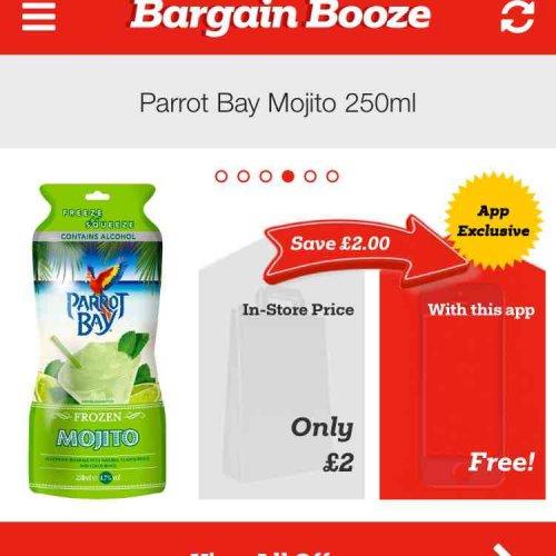 FREE Mojito from Bargain Booze!