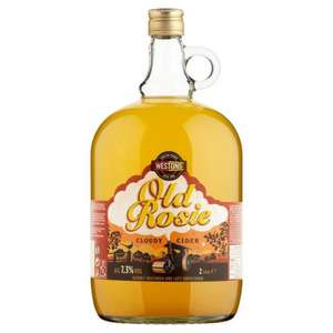 Old Rosie cider 2L for £5.02 - £3.02 Morrisons via clicksnap/more points
