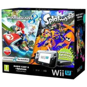 Nintendo Wii u with Mario Kart 8 and Splatoon £249 - Tesco Direct (Free C&C)