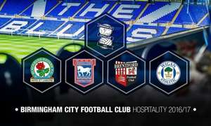 VIP Ticket to a Choice of Birmingham City FC Game, St Andrews Stadium from £69 Groupon