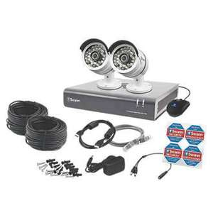 Two Camera Four Channel CCTV  (HD 1080p) only £199.99 @ Screwfix