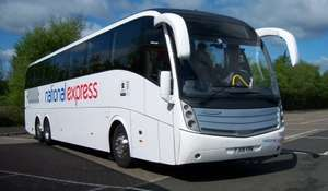 National Express £1 Sale (+ £1 booking fee)