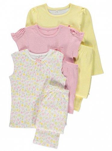 girls 3 pack bed pj was £13.00 now £6 (£2 each pair) @ Asda George (Instore)
