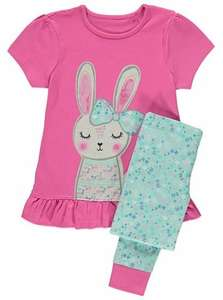 rabbit bed pj george ( 1-1.2 left only) £3 Asda (George) Instore