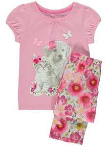 Puppy and Kitten Photograph Pyjamas £3 @ Asda george (Instore)