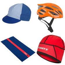 Planet X - Mega Bundles (incl. Helmet w/ cap and neck warmer bundle for £20)