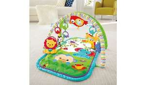 Fisher-Price 3-in-1 Musical Activity Baby Play Gym £15 Asda Slough